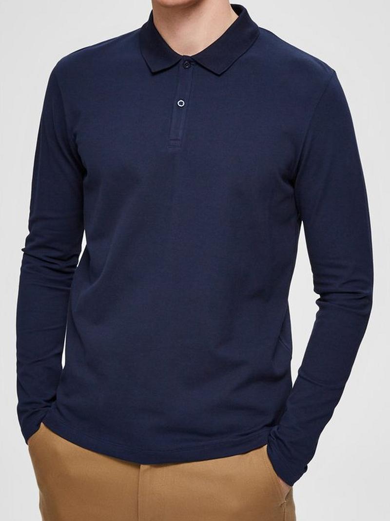 Pánské polo triko Selected (Tričko s dlouhým rukávem značky Selected )