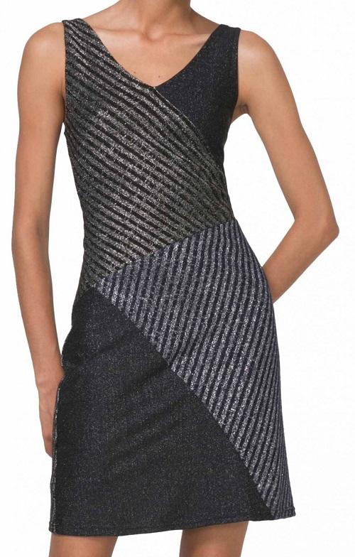Desigual dámské úpletové šaty (Párty dámské Desigual šaty bez rukávů)